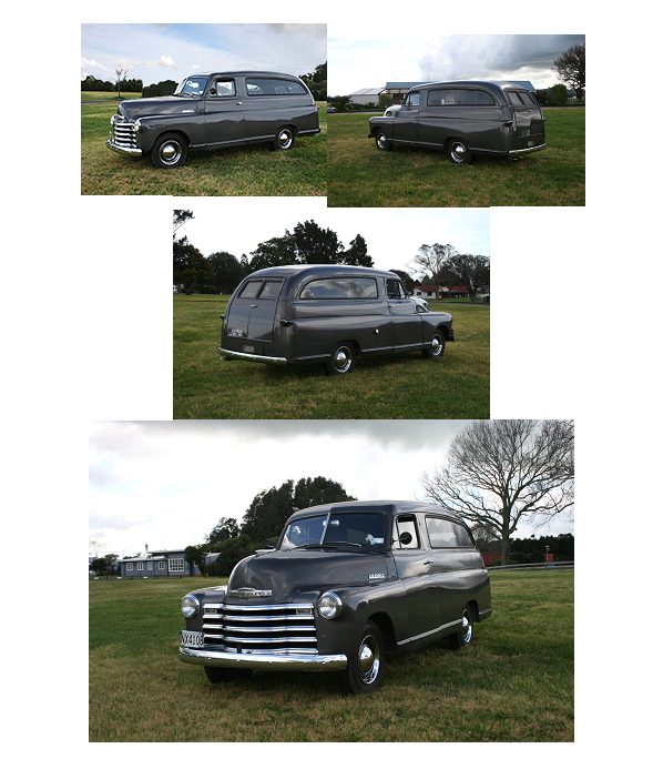 1948 Chevrolet ½ ton Funeral Hearse – Jim Carter Truck Parts