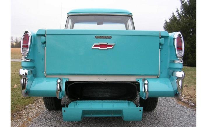 Chevrolet Cameo Truck GMC Suburban Carrier Taillight Backup Lens Set 1955-1958