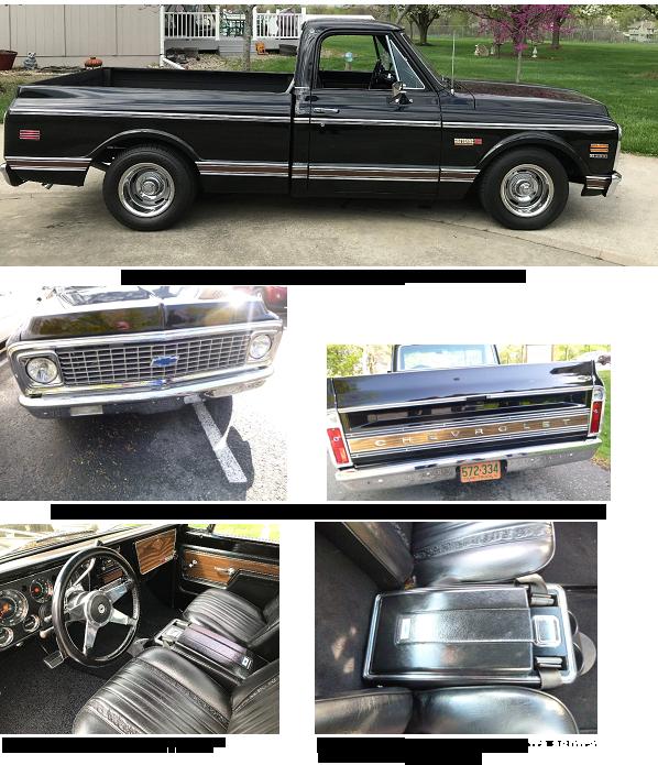 DOOR HANDLE PAIR 1967-1972 Chevy GMC C//K Pickup Truck Suburban C10 C20 C30 K5