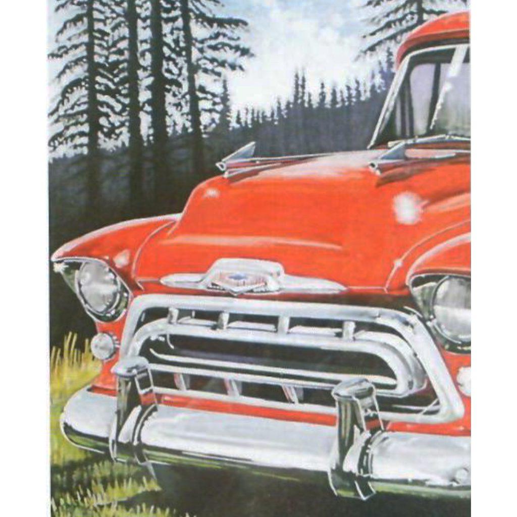 1957 Chevrolet Accessory Hood Ornaments Jim Carter Truck Partsjim Carter Truck Parts